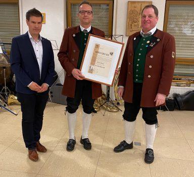 Jahreshauptversammlung – Dirigent Bernd Buck wird Musikdirektor