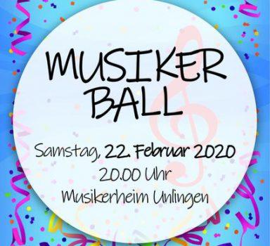 Musikerball 2020 mit buntem Programm und Eintritt frei