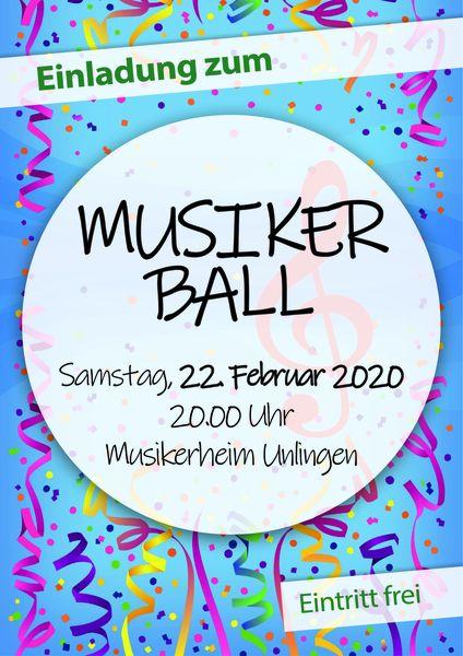Musikerball_Flyer
